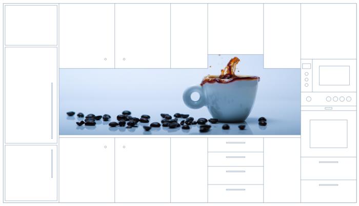 Küchenrückwand Motiv Espresso